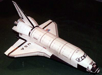 3002 - Raumfahrt - COLUMBIA Space Shuttle scale 1: