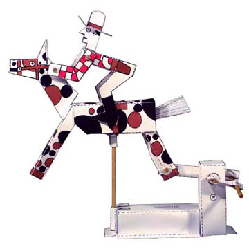 PM0005 - Mechanical Galloping Cowboy