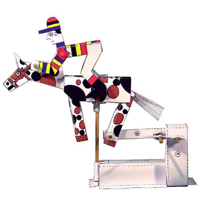 PM0005 - Mechanical Galloping Jockey
