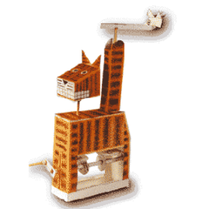 PM0008 - Mechanical Birdwatching Cat